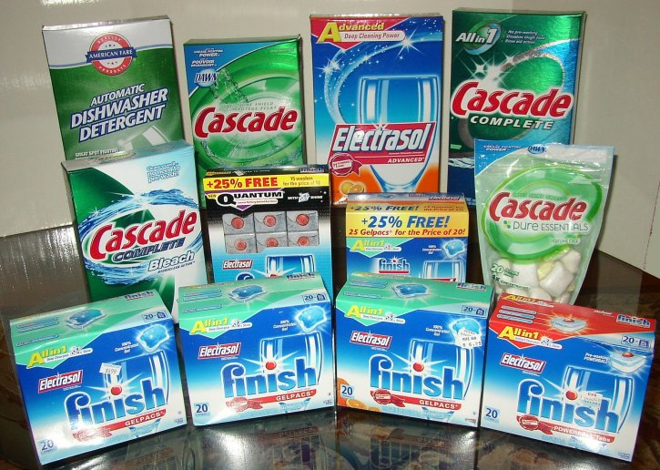 Consumer World Phosphate Dishwasher Detergent Still Being Sold